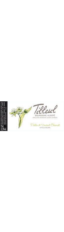 Bourgogne Aligoté Tilleul 2015