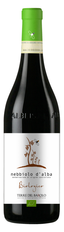 Organic Nebbiolo d'Alba 2015